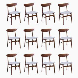 Chaise de Salle à Manger de Faarstrup Møbler, 1950s, Set de 12
