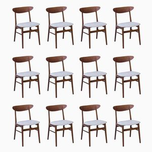 Dining Chairs from Faarstrup Møbler, 1950s, Set of 12