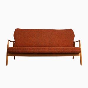 Rotes Sofa von Aksel Bender Madsen für Bovenkamp, 1950er