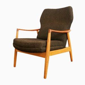 Dark Grey Armchair by Aksel Bender Madsen for Bovenkamp, 1950s
