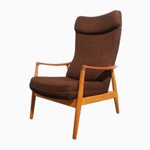 Brown Armchair by Aksel Bender Madsen for Bovenkamp, 1950s