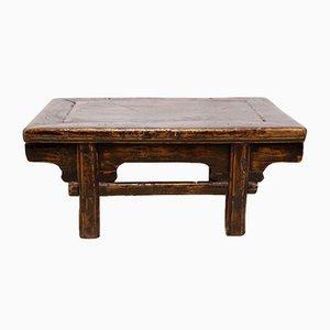 Antiker niedriger chinesischer Tisch