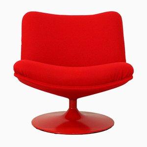 Modell F504 Sessel in Rot von Geoffrey Harcourt für Artifort, 1970er