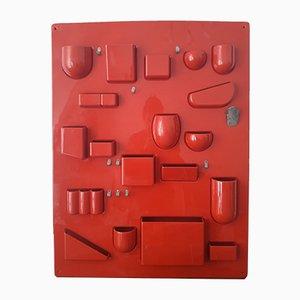 Organiseur Mural Uten.silo I par Ingo Maurer & Dorothee Becker pour Design M, 1969