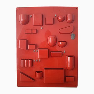 Uten.silo I Wall Organizer by Ingo Maurer & Dorothee Becker for Design M, 1969