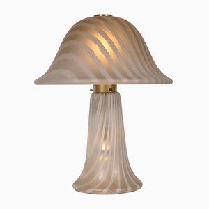 Glas Tischlampe von Peill & Putzler, 1970er