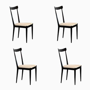 Dining Chairs by Ico Parisi for Fratelli Rizzi & Ariberto Colombo, 1950s, Set of 4