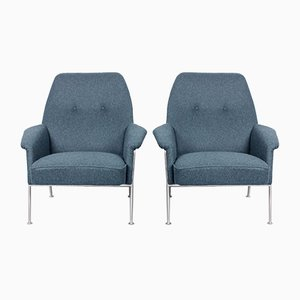 Model 162 Lounge Chairs by Theo Ruth for Artifort, 1950s, Set of 2