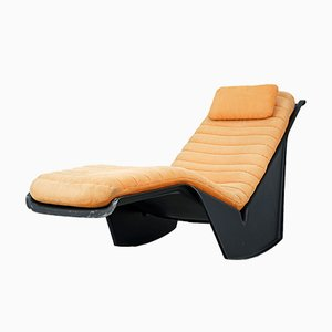 Model Serpentina Glass Fiber Chaise Lounge by Burkhard Vogtherr for Rosenthal, 1970s