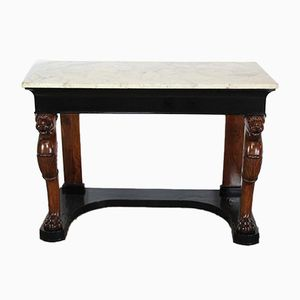 Antique Italian Console Table, 1820s