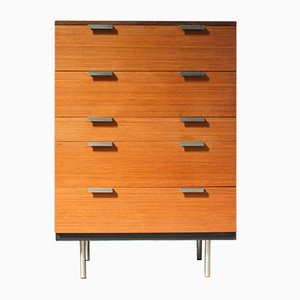 Teak Veneered Chest of Drawers by John & Sylvia Reid for Stag, 1960s