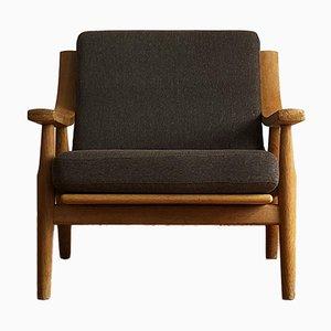 Mid-Century Eichenholz 530 Sessel von Hans J. Wegner für Getama