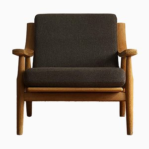 Mid-Century Oak 530 Armchair by Hans J. Wegner for Getama