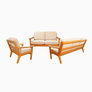 Teak Living Room Set by Juul Kristensen for Glostrup, 1960s