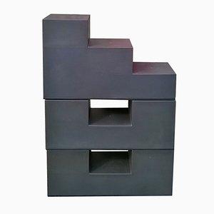 Model Gli Scacchi Side Tables by Mario Bellini for C&B Italia, 1960s, Set of 4