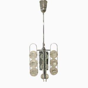Lampe à Suspension Mid-Century Moderne par Gaetano Sciolari, Italie