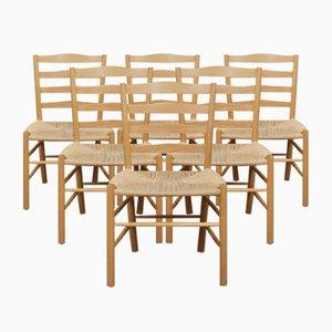 Vintage Stühle von Kaare Klint für Fritz Hansen, 1984, 6er Set
