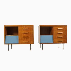 Mid-Century Dressers from UP Závody, Set of 2