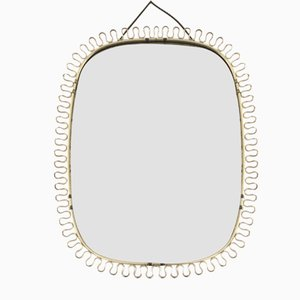 Specchio Mid-Century di Josef Frank per Svensk Tenn, Scandinavia