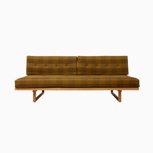 Vintage Eichenholz Modell 119 Tagesbett von Børge Mogensen für Fredericia