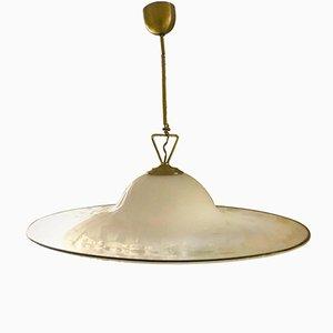 Murano Glass Circular Pendant by Gino Vistosi, 1960s