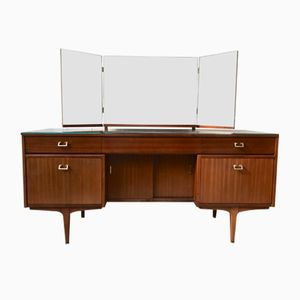 Sideboard with 3-Part Top Mirror, 1960s