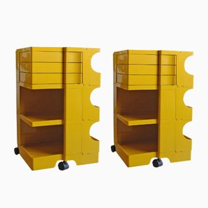 Boby 36 Trolley Cabinets by Joe Colombo for Kartell, 1960s, Set of 2