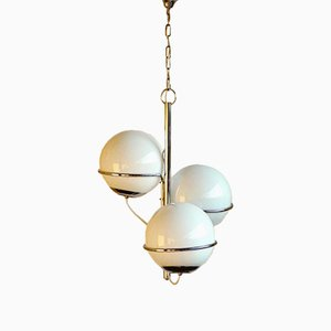 Vintage Space Age Ceiling Lamp by Vico Magistretti