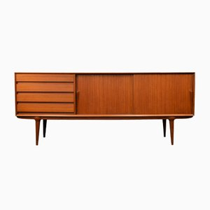 Mid-Century Danish Model 18 Teak Sideboard from Omann Jun