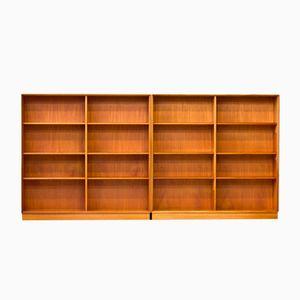 Librerie in teak e quercia di Bertil Fridhagen per Bodafors, 1962, set di 2