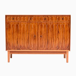 Credenza Elipses in palissandro di W.H. Russell per Gordon Russell, anni '50