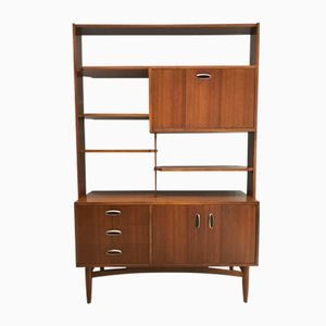 Mid-Century Teak Wall Unit from G-Plan, 1960s