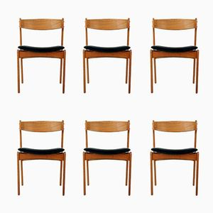 Model 49 Chairs by Erik Buck, 1960s, Set of 6