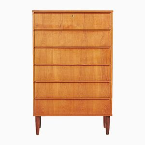 Danish Mid-Century Teak Chest of Drawers, 1960s