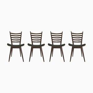 Chaises de Salle à Manger Modernistes par Cees Braakman pour Pastoe, 1950s, Set de 4