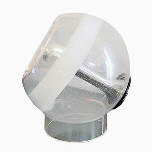 Spheric Murano Glass Table Lamp from Mazzega, 1970s