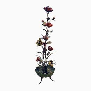 Sculptural Rose Plant Floor Lamp, 1960s