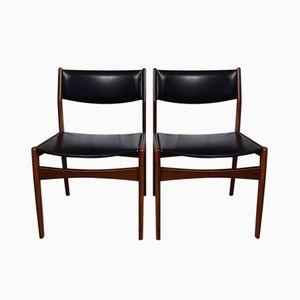 Danish Teak Chairs from Frem Røjle, 1960s, Set of 2