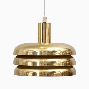 Brass Pendant Light by Hans-Agne Jakobsson for Hans-Agne Jakobsson AB Markaryd, 1960s