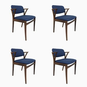Rosewood Armchairs by Kai Kristiansen for Bovenkamp, ​​1960s, Set of 4