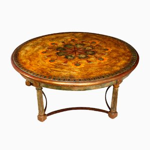 Italian Painted Gesso Coffee Table, 1880s