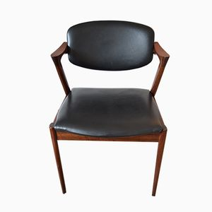 Rosewood Dining Chair by Kai Kristiansen for Schou Andersen, 1960s