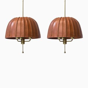 Swedish Model T549 Carolin Ceiling Lamps by Hans-Agne Jakobsson, 1970s, Set of 2