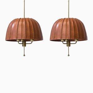 Swedish Model T549 Carolin Ceiling Lamps by Hans-Agne Jakobsson, 1970s