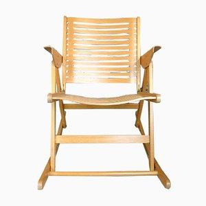 Rocking Chair Pliante Rex par Niko Kralj pour Impakta Les, 1952