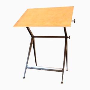 Vintage Plotting Table by Wim Rietveld & Friso Kramer for Ahrend de Cirkel