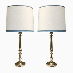 Vintage Table Lamps, Set of 2