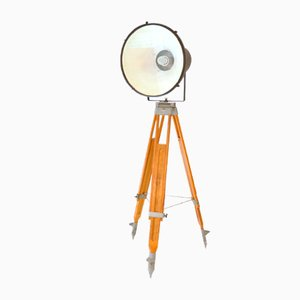 Vintage German Light on Tripod
