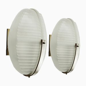 Italian Wall Lights by Vico Magistretti for Artemide, 1960s, Set of 2