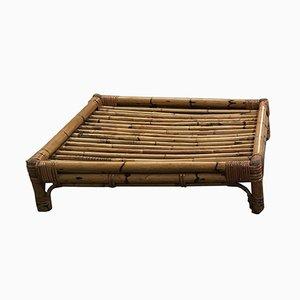 Italian Bamboo Coffee Table, 1970s